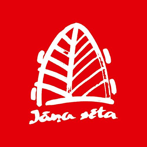 JS logo ar saiti uz kartes produktu
