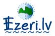 logo ezeri.lv ar saiti uz ezeru