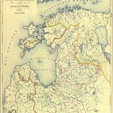 1852. gada hirografisko rajonu karte